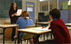 Karen Buckley, Bree Timmins, Zeke Kinski in Neighbours Episode 4834