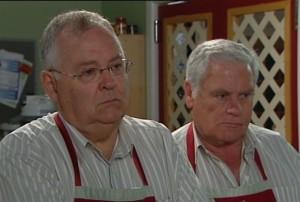 Harold Bishop, Lou Carpenter in Neighbours Episode 4838