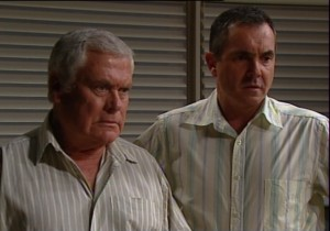 Lou Carpenter, Karl Kennedy in Neighbours Episode 4838
