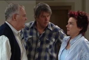 Harold Bishop, Joe Mangel, Lyn Scully in Neighbours Episode 4839