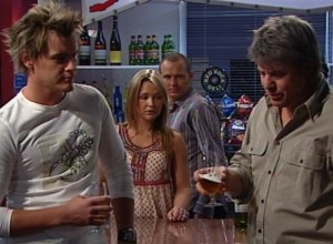 Ned Parker, Steph Scully, Max Hoyland, Joe Mangel in Neighbours Episode 4839