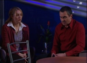 Janelle Timmins, Karl Kennedy in Neighbours Episode 4839