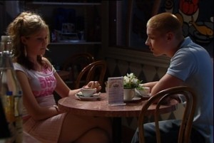 Janae Timmins, Boyd Hoyland in Neighbours Episode 4839