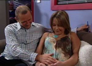 Max Hoyland, Steph Scully in Neighbours Episode 4840