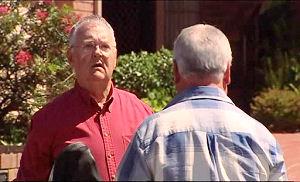 Harold Bishop, Lou Carpenter in Neighbours Episode 4945