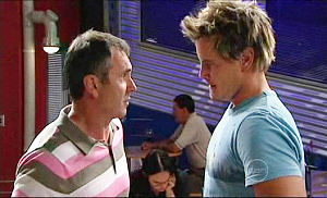Karl Kennedy, Ned Parker in Neighbours Episode 4981