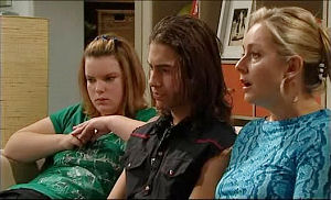 Bree Timmins, Dylan Timmins, Janelle Timmins in Neighbours Episode 4981