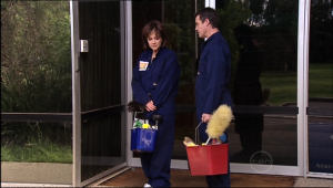 Paul Robinson, Lyn Scully in Neighbours Episode 5041