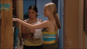 Joanna Fleming, Janae Timmins in Neighbours Episode 5042