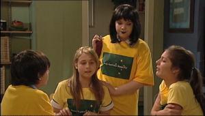 Bree Timmins, Anne Baxter, Rachel Kinski, Zeke Kinski in Neighbours Episode 5044