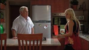 Lou Carpenter, Sky Mangel in Neighbours Episode 5045