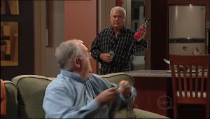 Harold Bishop, Lou Carpenter in Neighbours Episode 5050