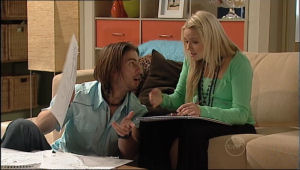 Dylan Timmins, Sky Mangel in Neighbours Episode 5054