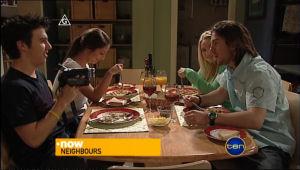 Stingray Timmins, Rachel Kinski, Sky Mangel, Dylan Timmins in Neighbours Episode 5054