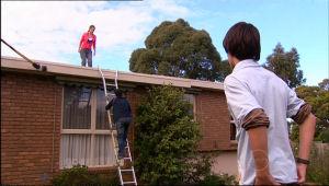 Rachel Kinski, Stingray Timmins, Zeke Kinski in Neighbours Episode 5060