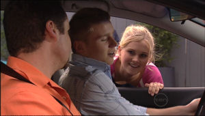 Toadie Rebecchi, Boyd Hoyland, Janae Timmins in Neighbours Episode 5062