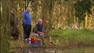 Lou Carpenter, Harold Bishop in Neighbours Episode 5069