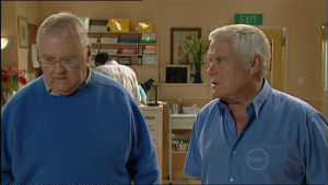Harold Bishop, Lou Carpenter in Neighbours Episode 5070