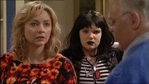 Harold Bishop, Janelle Timmins, Bree Timmins in Neighbours Episode 5071
