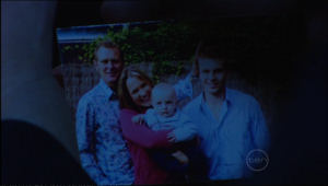 Max Hoyland, Steph Scully, Charlie Hoyland, Boyd Hoyland in Neighbours Episode 5075