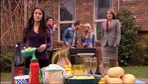 Carmella Cammeniti, Frazer Yeats, Will Griggs, Pepper Steiger, Rosie Cammeniti in Neighbours Episode 5075