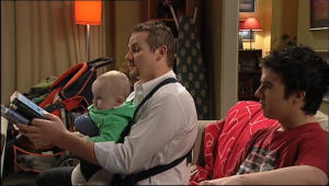 Charlie Hoyland, Toadie Rebecchi, Stingray Timmins in Neighbours Episode 5078