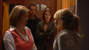 Christine Rodd, Will Griggs, Rosie Cammeniti, Pepper Steiger in Neighbours Episode 5082