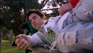 Stingray Timmins in Neighbours Episode 5084