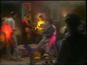 Des Clarke, Daphne Clarke, Paul Robinson in Neighbours Episode 0001