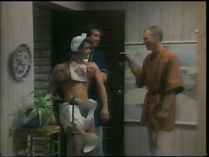 Paul Robinson, Max Ramsay, Jim Robinson in Neighbours Episode 0001