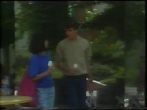 Kim Taylor, Scott Robinson in Neighbours Episode 0003