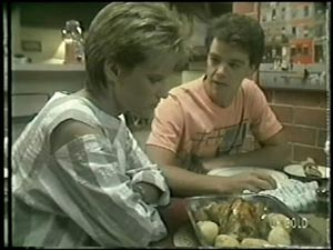 Paul Robinson, Daphne Clarke in Neighbours Episode 0005
