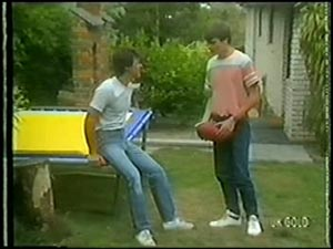 Paul Robinson, Scott Robinson in Neighbours Episode 0008