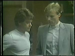 Paul Robinson, Father Kevin Barry in Neighbours Episode 0008