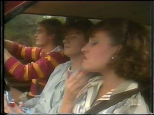 Shane Ramsay, Danny Ramsay, Julie Robinson in Neighbours Episode 0010