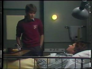 Danny Ramsay, Scott Robinson in Neighbours Episode 0011