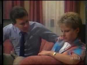 Des Clarke, Daphne Lawrence in Neighbours Episode 0011