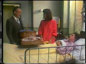Dr Rowlands, Maria Ramsay, Danny Ramsay in Neighbours Episode 0011