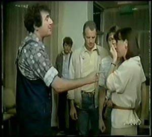 Jim Robinson, Maria Ramsay, Max Ramsay, Scott Robinson, Shane Ramsay in Neighbours Episode 0065