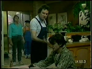 Shane Ramsay, Terry Inglis, Max Ramsay, Danny Ramsay in Neighbours Episode 0066