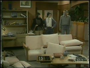 Maria Ramsay, Danny Ramsay, Jim Robinson in Neighbours Episode 0097