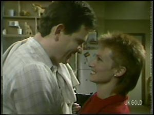 Des Clarke, Joan Langdon in Neighbours Episode 0097