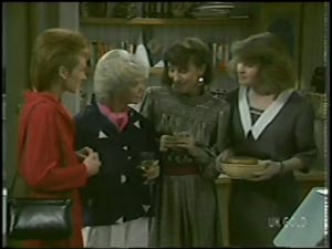 Joan Langdon, Helen Daniels, Maria Ramsay, Julie Robinson in Neighbours Episode 0097