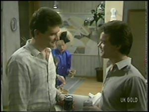 Des Clarke, Paul Robinson in Neighbours Episode 0097