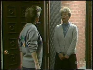 Daphne Clarke, Eileen Clarke in Neighbours Episode 0098