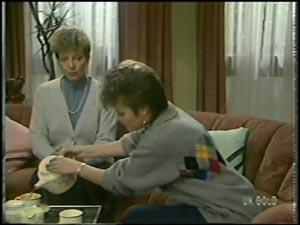 Eileen Clarke, Daphne Clarke in Neighbours Episode 0098