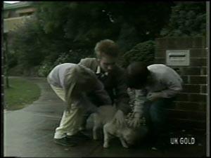 Susan Langdon, Joan Langdon, Rodney Langdon, Basil in Neighbours Episode 0098
