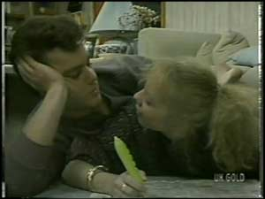 Paul Robinson, Terry Inglis in Neighbours Episode 0099