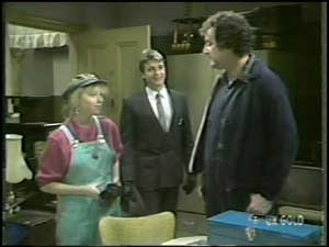 Terry Inglis, Shane Ramsay, Max Ramsay in Neighbours Episode 0099