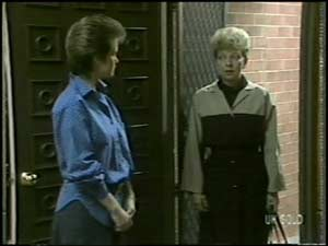 Daphne Clarke, Eileen Clarke in Neighbours Episode 0099